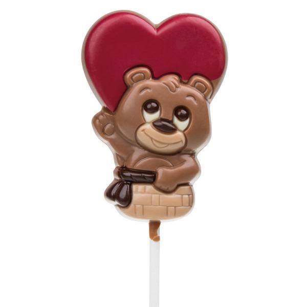 Chocolissimo commandez en ligne vos chocolats et pralin s cadeaux d 39 entreprise personnalis s - Sucette au chocolat ...