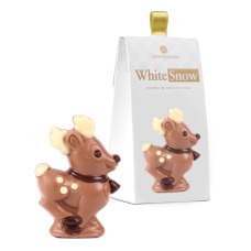 chocolate reindeer figurine, christmas figurines