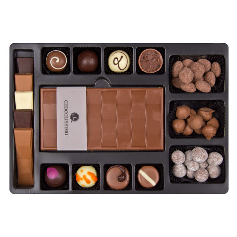 first selection chocolate