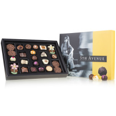 5th avenue chocolate, chocolate box for man, new york memories