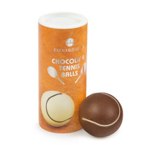 chocolate tennis ball