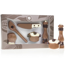 Chocolate Kitchen Set