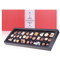 chocolissimo pralines, pralines in a box, box of pralines, belgian pralines, belgian chocolates