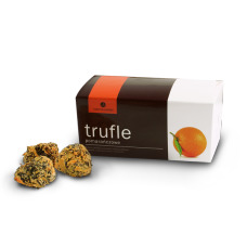orange truffles, belgian truffles