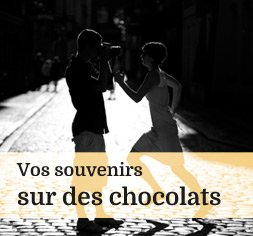 Chocolats avec photo